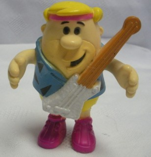 Flintstones Collectibles - Barney Rubble Bendy with Guitar
