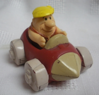 Flintstones Collectibles - Barney Rubble in Car
