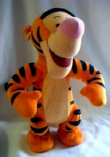 Disney Collectibles - Tigger Bouncing Plush