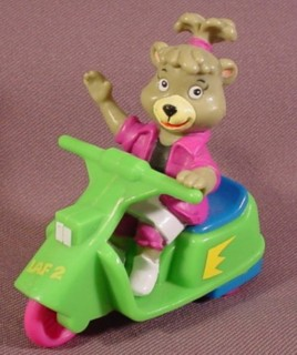 Hanna Barbera Collectibles - Cindy Bear Scooter
