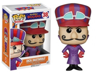 Hanna Barbera Collectibles - Wacky Races Dick Dastardly POP! Vinyl Figure