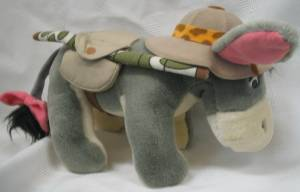 Walt Disney Collectibles - Eeyore Plush Animal Kingdom Safari