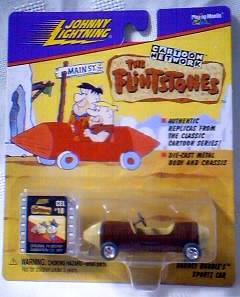 Flintstones Collectibles - Johnny Lightning Barney Rubble Car