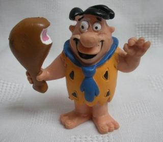 Flintstones Collectibles - Fred Flintstone Eating Leg