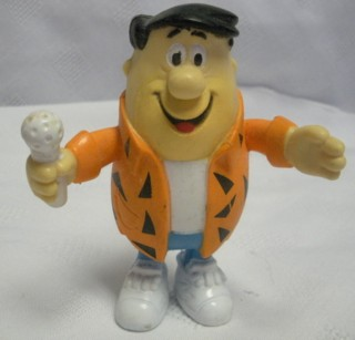 Flintstones Collectibles - Jfred Flintstone Bendy Mic