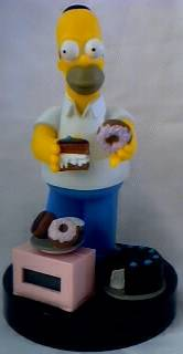 Television Character Collectibles Homer Simpson Alarm Clock