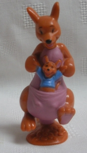Walt Disney Collectibles - Kanga and Roo PVC Figure