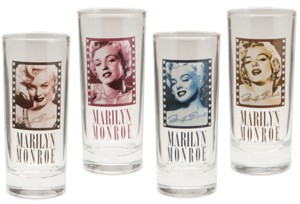 Marilyn Monroe Collectible Glasses