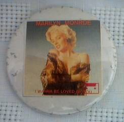 Marilyn Monroe Pinback Button