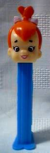Flintstones Collectibles - Pebbles Flintstone Pez Dispenser