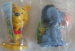 Walt Disney Collectibles - Pooh and Eeyore Mini Bobblehead Dolls