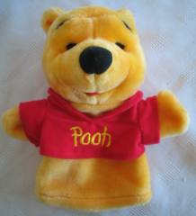 Walt Disney Collectibles - Winnie the Pooh Bear Plush Puppet