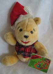Walt Disney Collectibles - Winnie the Pooh Santa Christmas Plush