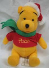 Walt Disney Collectibles - Pooh Santa XMas Beanie