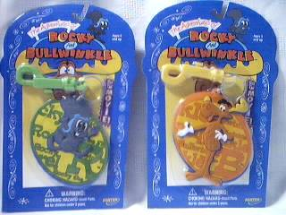 Rocky & Bullwinkle Collectibles - Rocky and Bullwinkle Keychains