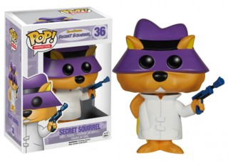 Hanna Barbera Collectibles -Secret Squirrel POP! Vinyl Figure