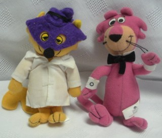 Hanna Barbera Collectibles - Secret Squirrel and Snagglepuss Plush Dolls