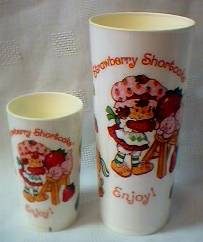 Strawberry Shortcake Plastic Cups