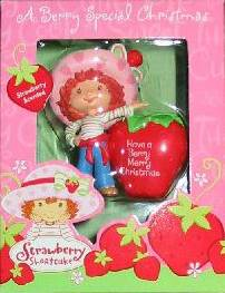 Strawberry Shortcake Holiday XMas Ornament