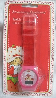 Strawberry Shortcake Plastic Watch
