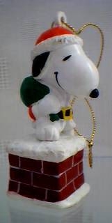 Peanuts Collectibles - Snoopy Christmas Ornament