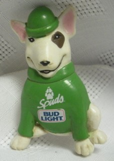 Budweiser Advertising Collectibles - Bud Light Spuds MacKenzie Pin