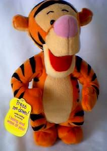 Walt Disney Collectibles - Tigger Bouncing Plush
