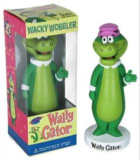 Hanna Barbera Collectibles - Wally Gator Bobblehead Nodder